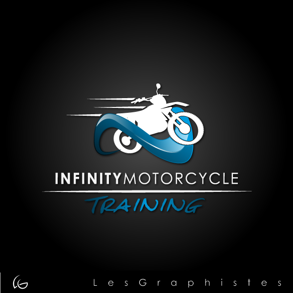 Logo Design by Les-Graphistes - Entry No. 18 in the Logo Design Contest INFINITY MOTORCYCLE TRAINING.