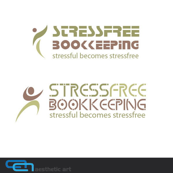 Logo Design by aesthetic-art - Entry No. 127 in the Logo Design Contest StressFree Bookkeeping.