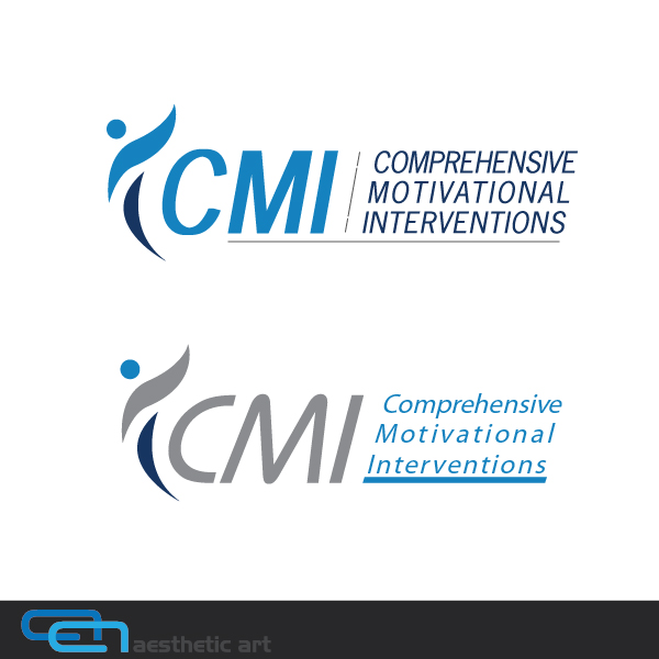 Logo Design by aesthetic-art - Entry No. 143 in the Logo Design Contest CMI (Comprehensive Motivational Interventions).