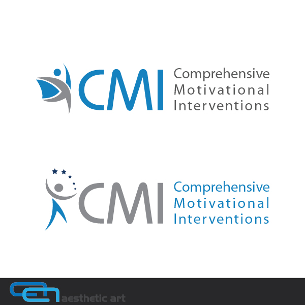 Logo Design by aesthetic-art - Entry No. 144 in the Logo Design Contest CMI (Comprehensive Motivational Interventions).