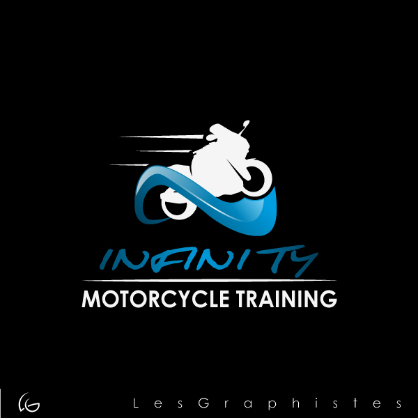 Logo Design by Les-Graphistes - Entry No. 19 in the Logo Design Contest INFINITY MOTORCYCLE TRAINING.