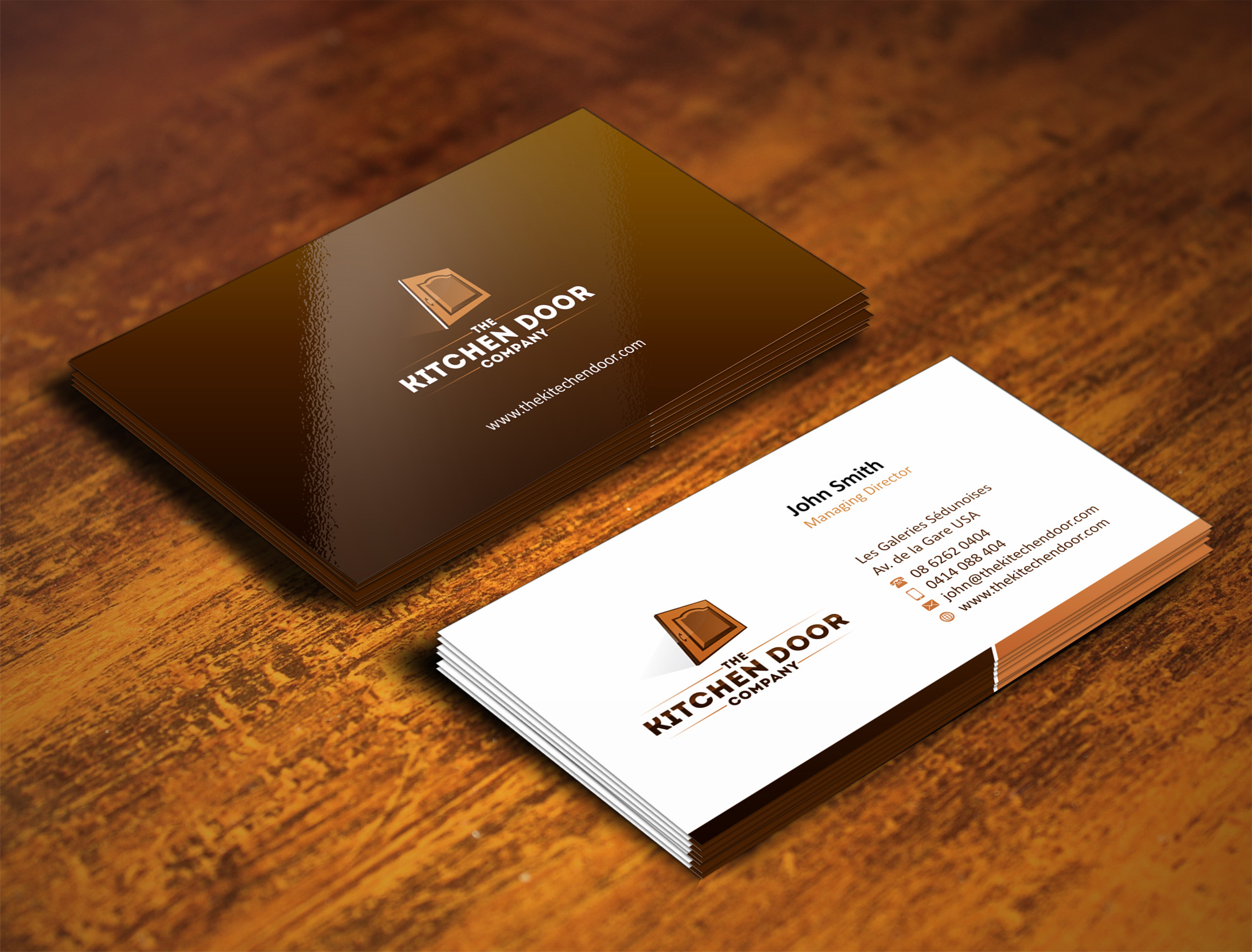 Home Design Business Part - 16: Business Card Design By Muhammad Aslam - Entry No. 9 In The Business Card  Design