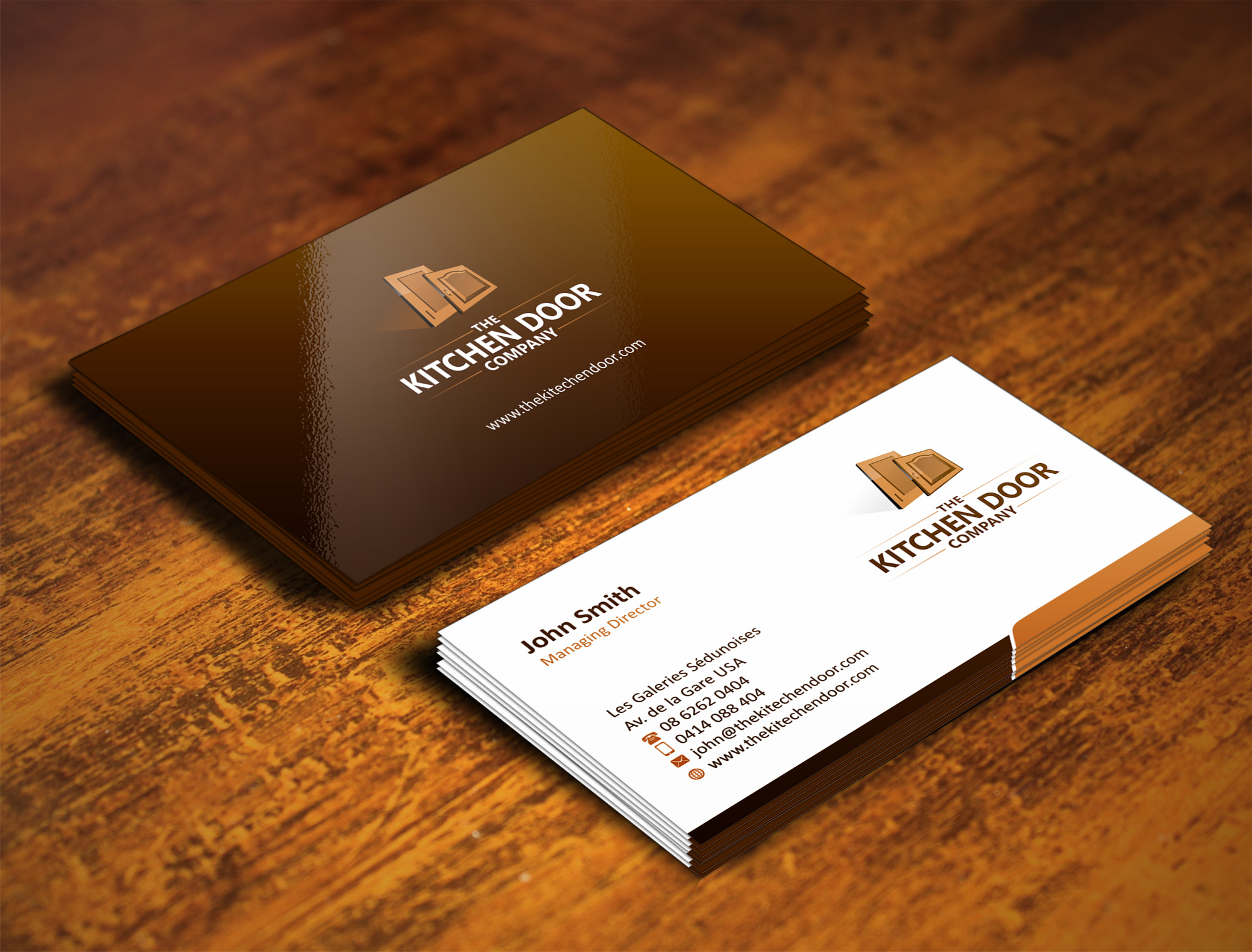Business card design contests captivating business card for Home decorating company