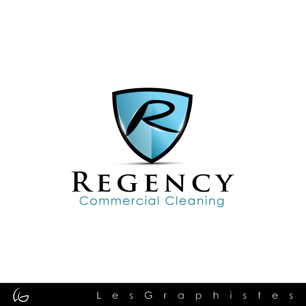 Logo Design by Les-Graphistes - Entry No. 1 in the Logo Design Contest Regency Commercial Cleaning.