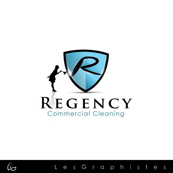 Logo Design by Les-Graphistes - Entry No. 3 in the Logo Design Contest Regency Commercial Cleaning.