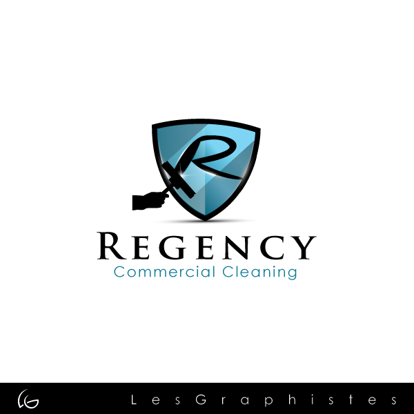 Logo Design by Les-Graphistes - Entry No. 4 in the Logo Design Contest Regency Commercial Cleaning.
