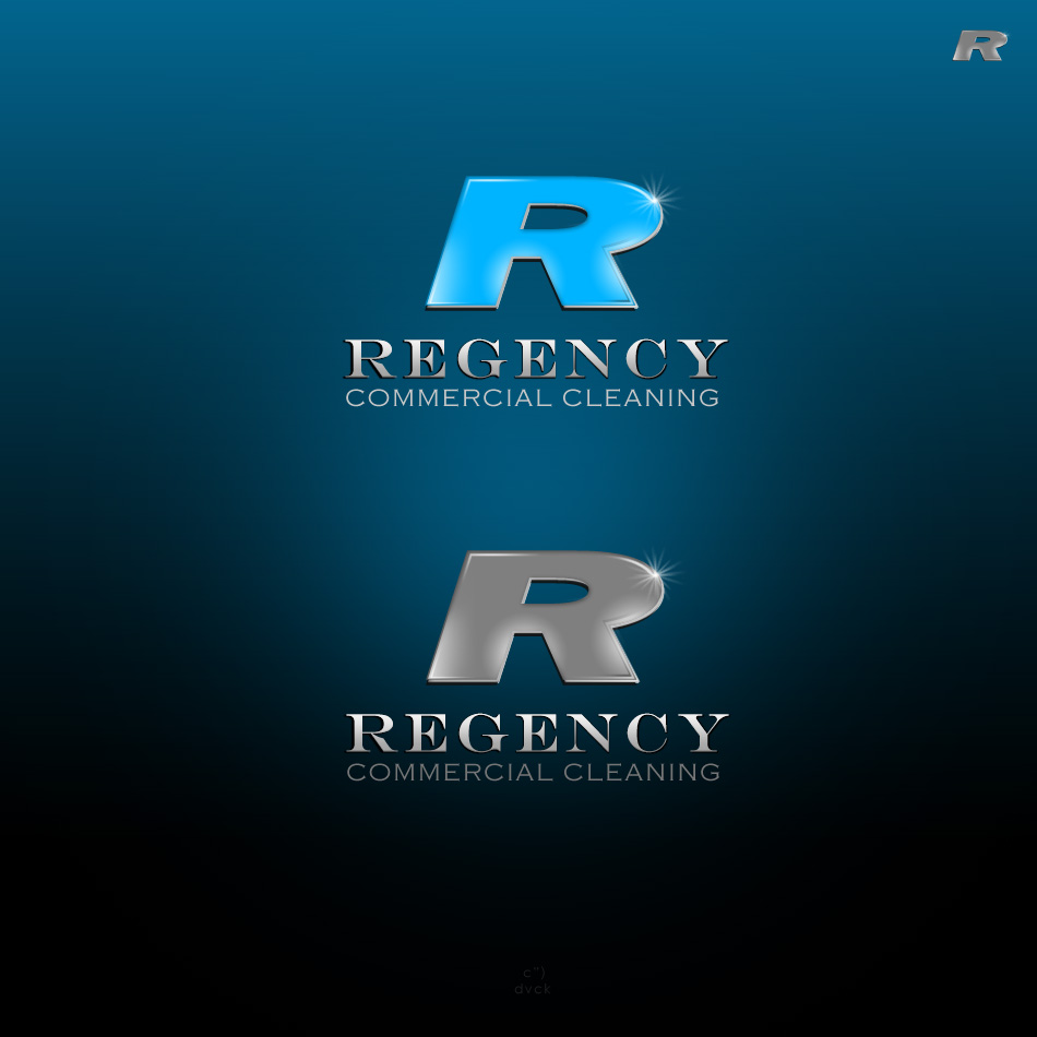 Logo Design by rockpinoy - Entry No. 7 in the Logo Design Contest Regency Commercial Cleaning.