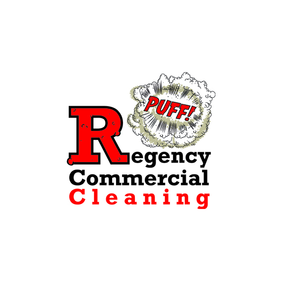 Logo Design by ex - Entry No. 12 in the Logo Design Contest Regency Commercial Cleaning.