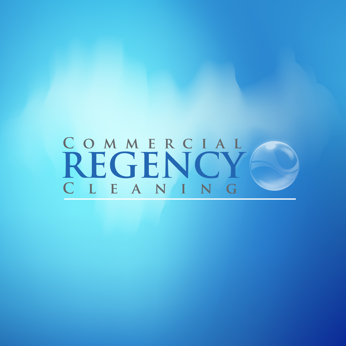 Logo Design by ex - Entry No. 16 in the Logo Design Contest Regency Commercial Cleaning.