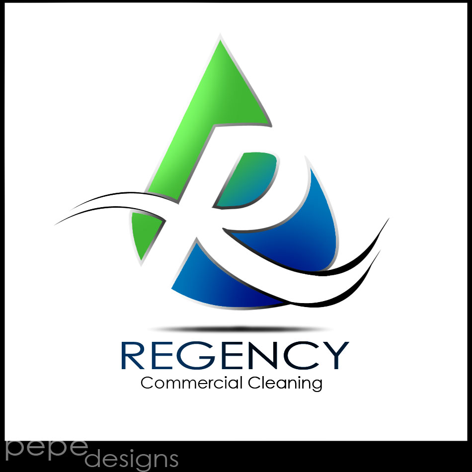 Logo Design by Joseph Lemuel Lacatan - Entry No. 22 in the Logo Design Contest Regency Commercial Cleaning.