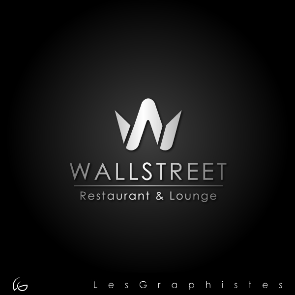 Logo Design by Les-Graphistes - Entry No. 8 in the Logo Design Contest Wallstreet Restaurant & Lounge.