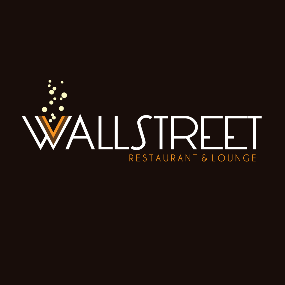 Logo Design by moonflower - Entry No. 9 in the Logo Design Contest Wallstreet Restaurant & Lounge.