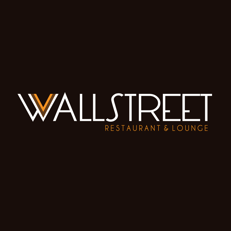 Logo Design by moonflower - Entry No. 11 in the Logo Design Contest Wallstreet Restaurant & Lounge.