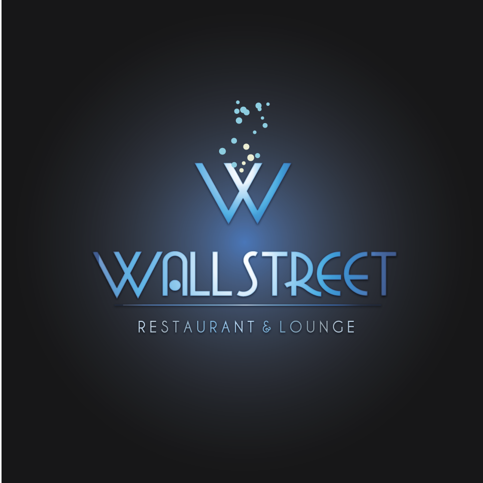 Logo Design by moonflower - Entry No. 12 in the Logo Design Contest Wallstreet Restaurant & Lounge.