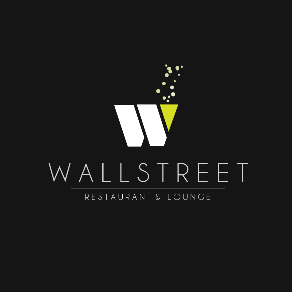 Logo Design by moonflower - Entry No. 14 in the Logo Design Contest Wallstreet Restaurant & Lounge.