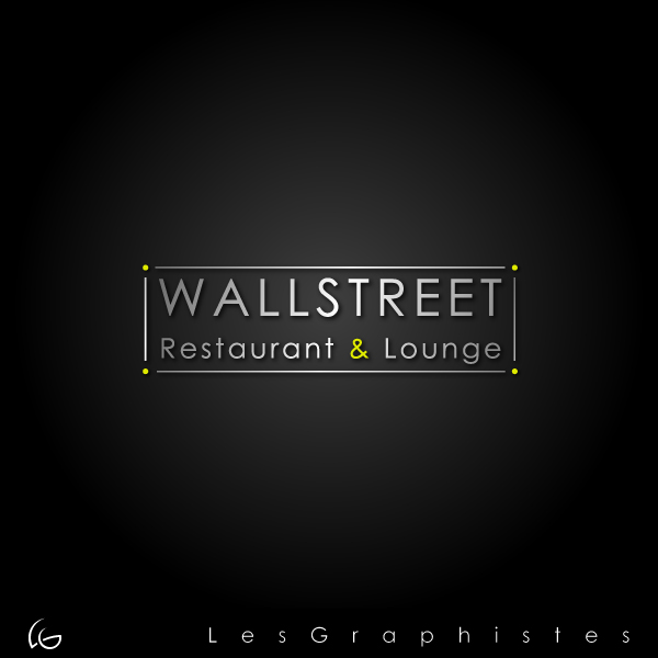 Logo Design by Les-Graphistes - Entry No. 18 in the Logo Design Contest Wallstreet Restaurant & Lounge.