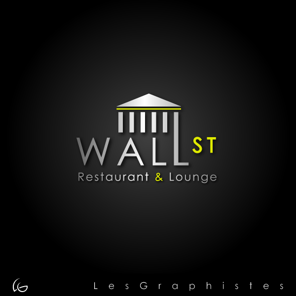 Logo Design by Les-Graphistes - Entry No. 23 in the Logo Design Contest Wallstreet Restaurant & Lounge.