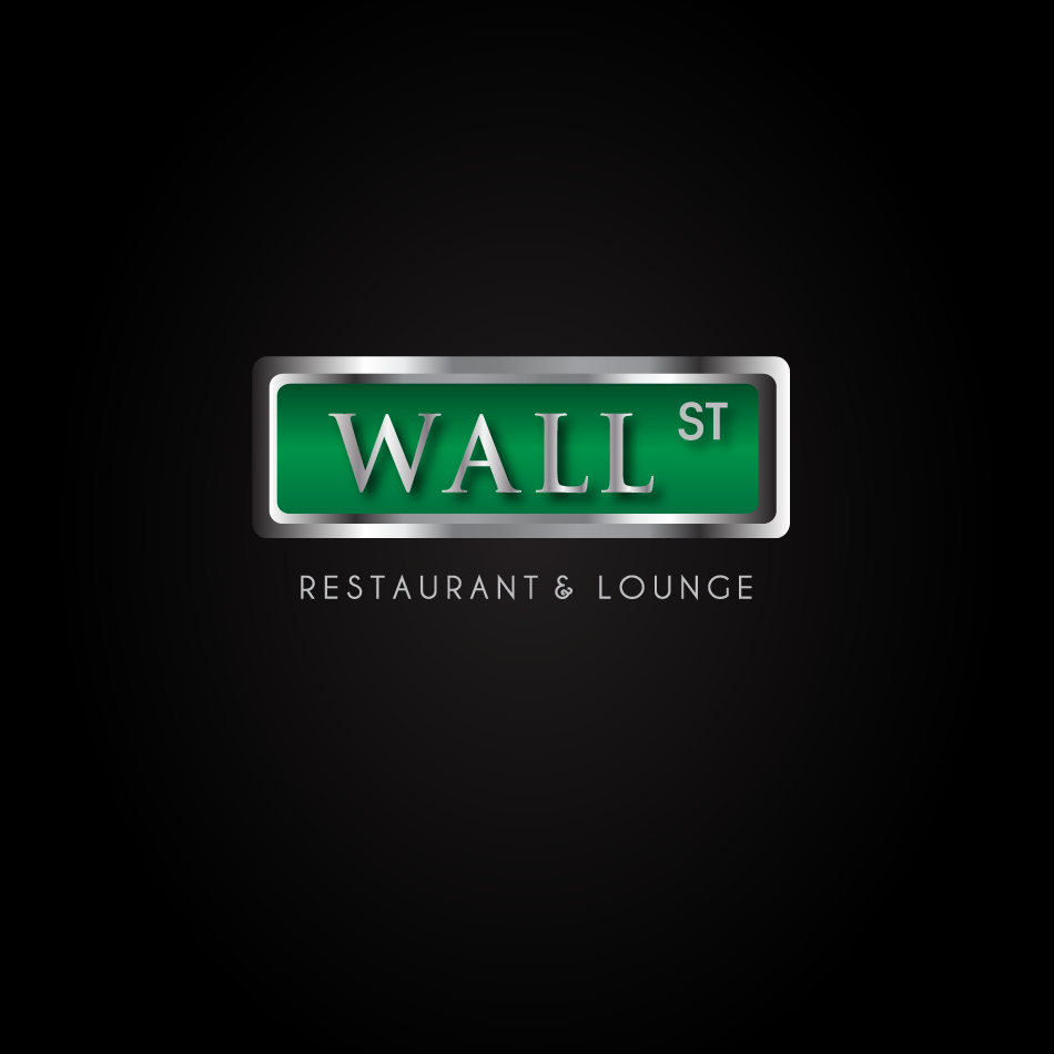 Logo Design by moonflower - Entry No. 24 in the Logo Design Contest Wallstreet Restaurant & Lounge.