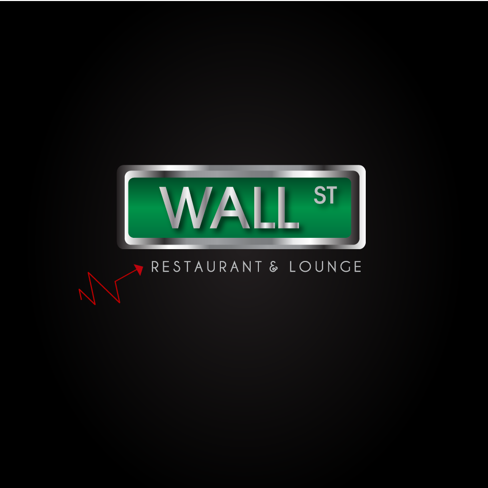 Logo Design by moonflower - Entry No. 25 in the Logo Design Contest Wallstreet Restaurant & Lounge.