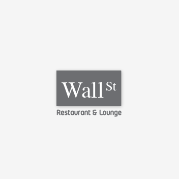 Logo Design by Alexandre - Entry No. 28 in the Logo Design Contest Wallstreet Restaurant & Lounge.