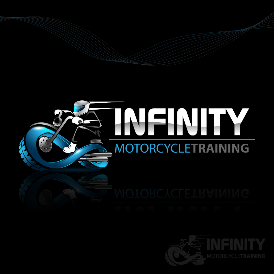 Logo Design by zesthar - Entry No. 34 in the Logo Design Contest INFINITY MOTORCYCLE TRAINING.