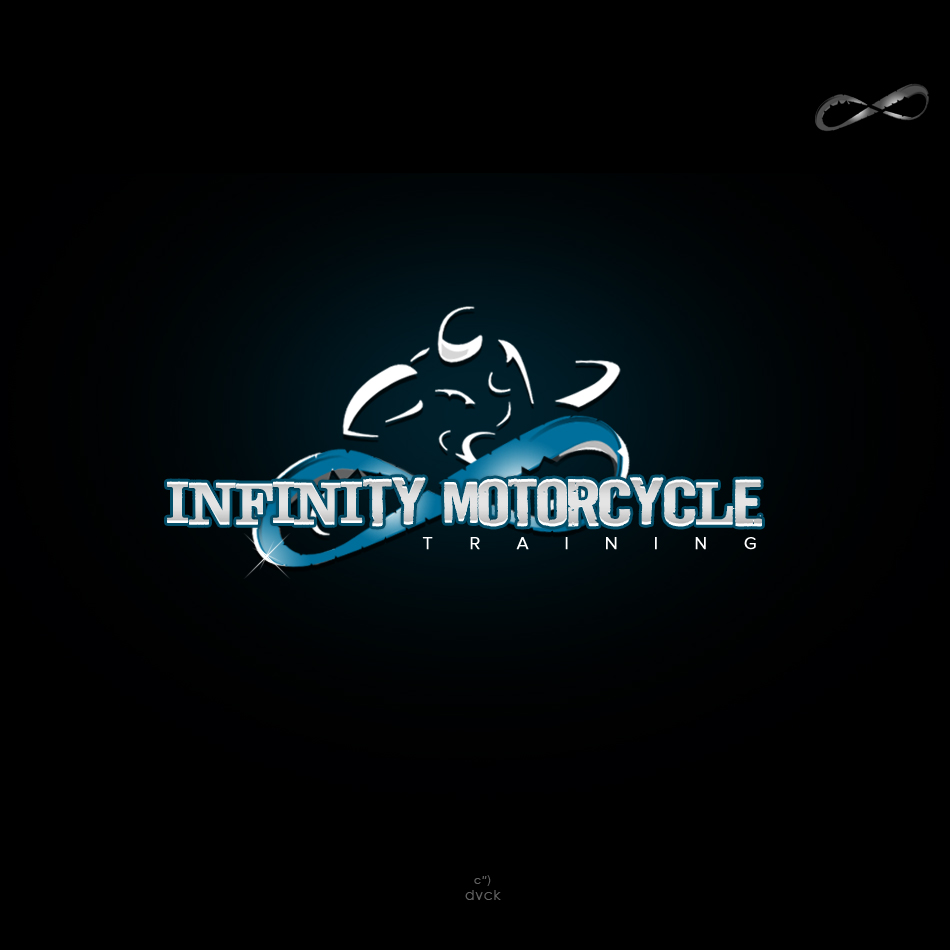 Logo Design by rockpinoy - Entry No. 35 in the Logo Design Contest INFINITY MOTORCYCLE TRAINING.