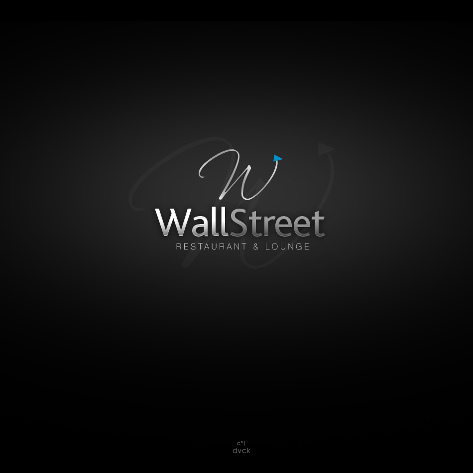 Logo Design by rockpinoy - Entry No. 31 in the Logo Design Contest Wallstreet Restaurant & Lounge.