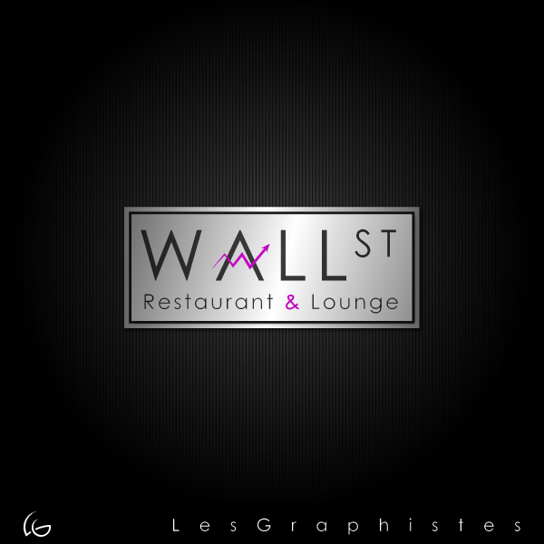 Logo Design by Les-Graphistes - Entry No. 32 in the Logo Design Contest Wallstreet Restaurant & Lounge.