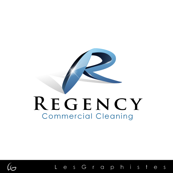 Logo Design by Les-Graphistes - Entry No. 29 in the Logo Design Contest Regency Commercial Cleaning.