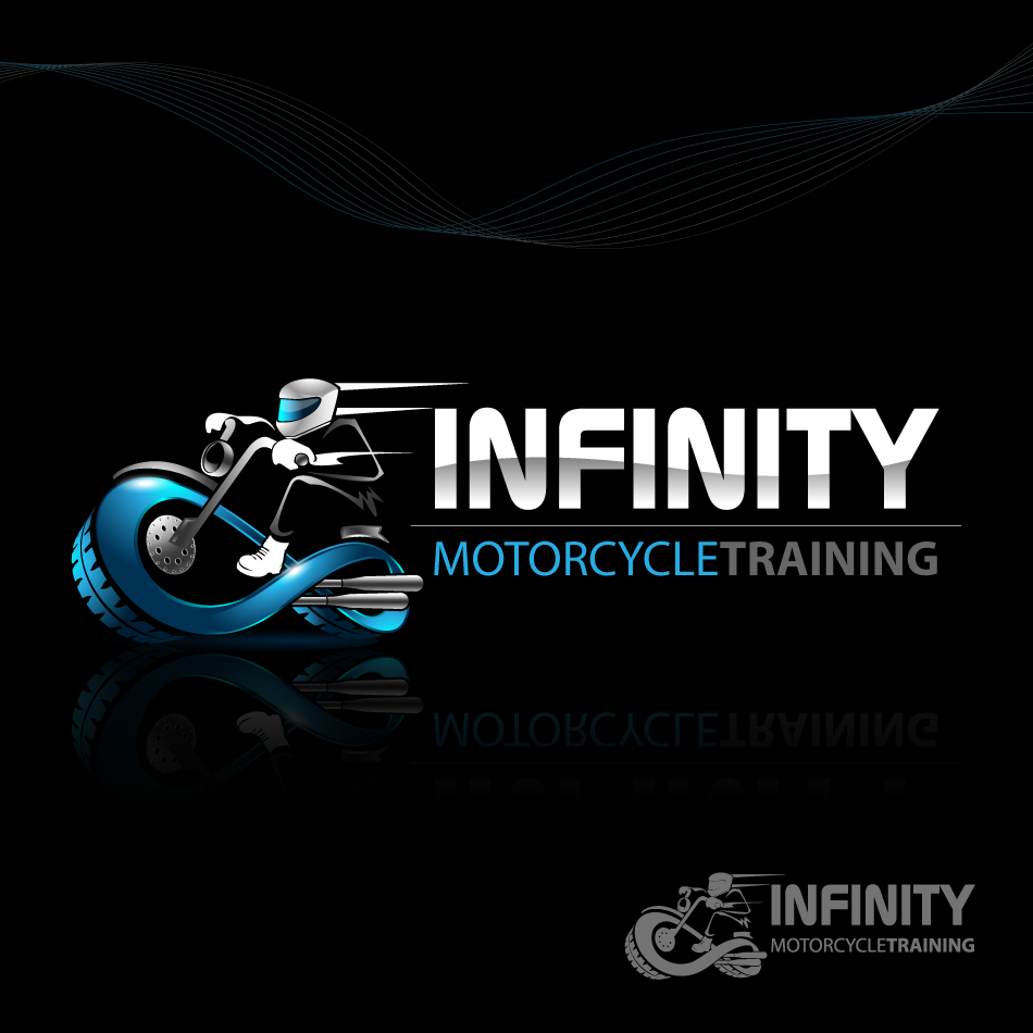 Logo Design by zesthar - Entry No. 37 in the Logo Design Contest INFINITY MOTORCYCLE TRAINING.