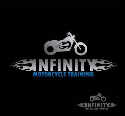 Logo Design by iframe - Entry No. 41 in the Logo Design Contest INFINITY MOTORCYCLE TRAINING.