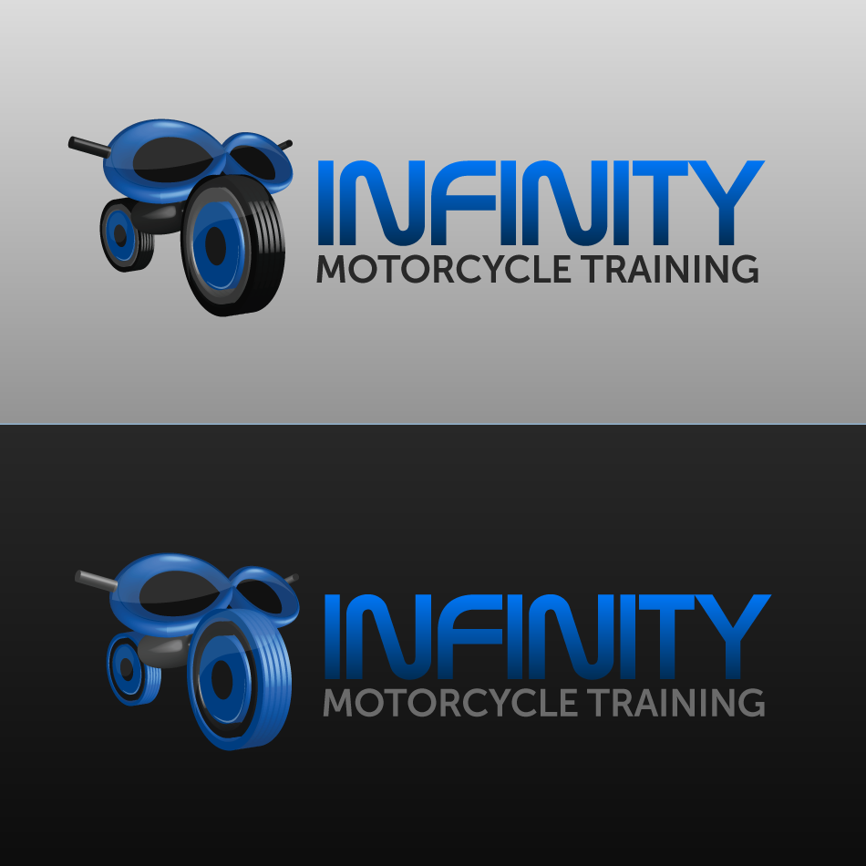 Logo Design by Private User - Entry No. 42 in the Logo Design Contest INFINITY MOTORCYCLE TRAINING.