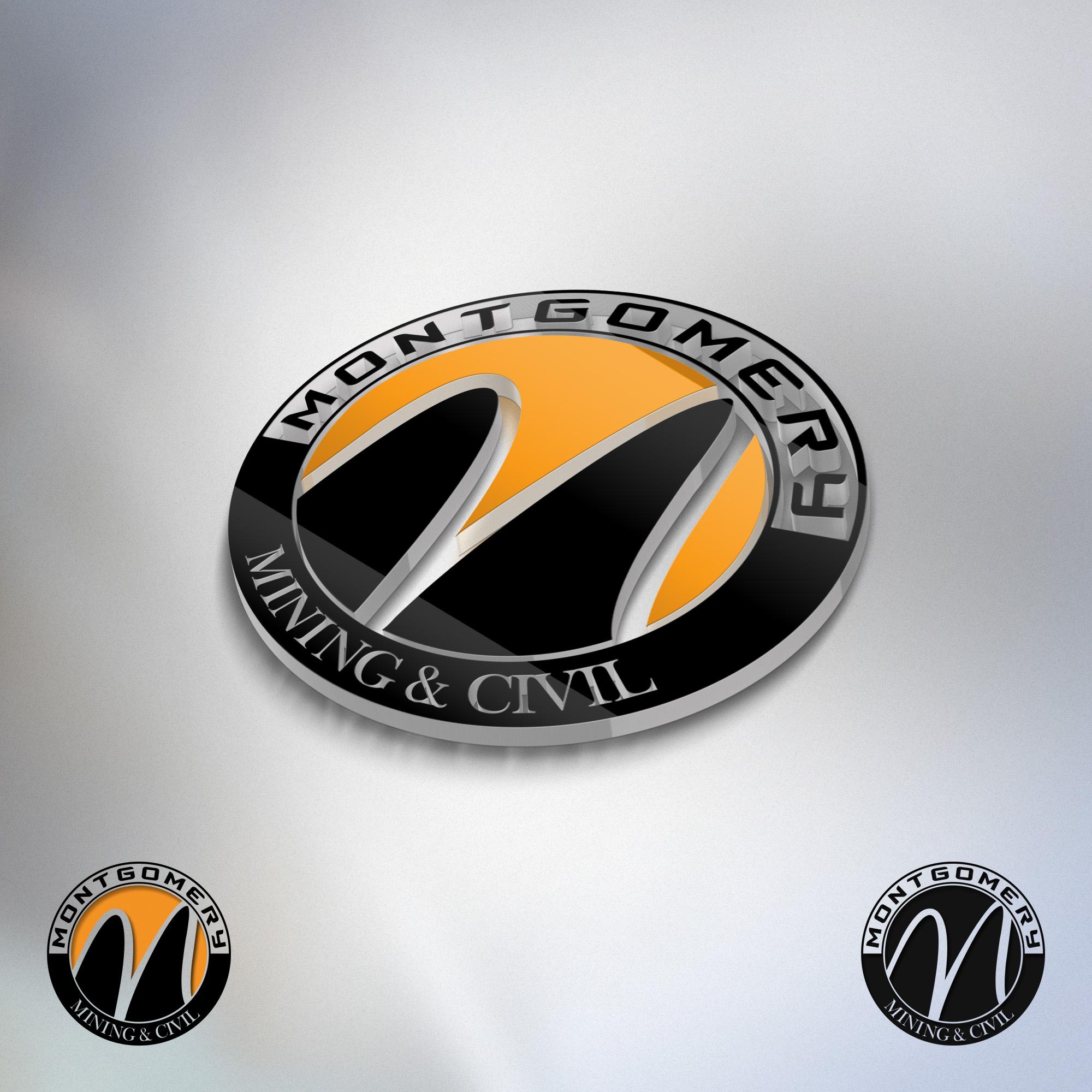 3cf00a2b3a Logo Design Contests » Captivating Logo Design for Montgomery Mining    Civil » Design No. 28 by cakirdesign