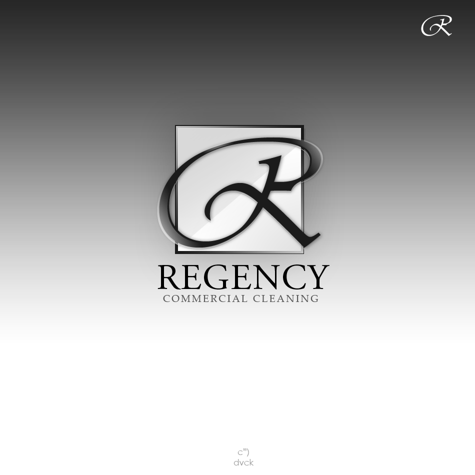 Logo Design by rockpinoy - Entry No. 44 in the Logo Design Contest Regency Commercial Cleaning.