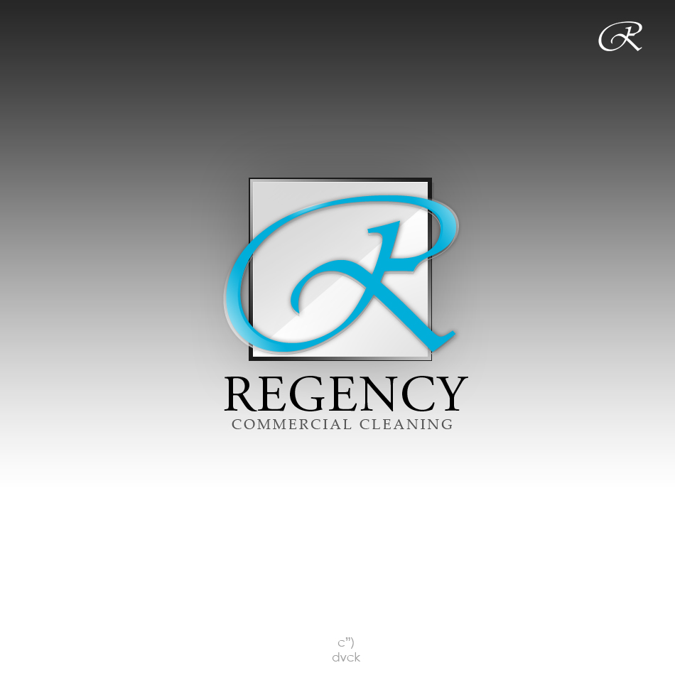 Logo Design by rockpinoy - Entry No. 45 in the Logo Design Contest Regency Commercial Cleaning.