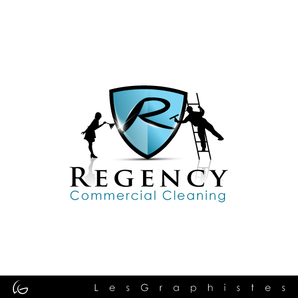 Logo Design by Les-Graphistes - Entry No. 47 in the Logo Design Contest Regency Commercial Cleaning.