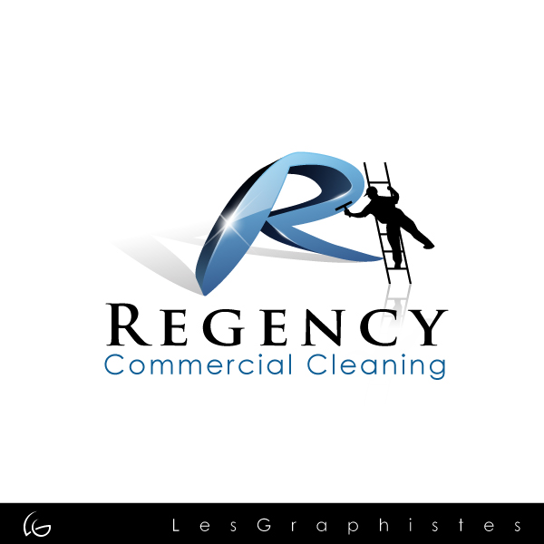 Logo Design by Les-Graphistes - Entry No. 49 in the Logo Design Contest Regency Commercial Cleaning.