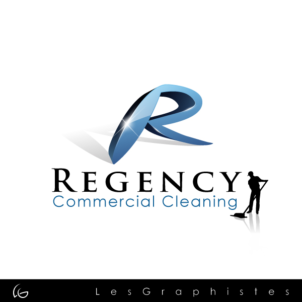 Logo Design by Les-Graphistes - Entry No. 50 in the Logo Design Contest Regency Commercial Cleaning.