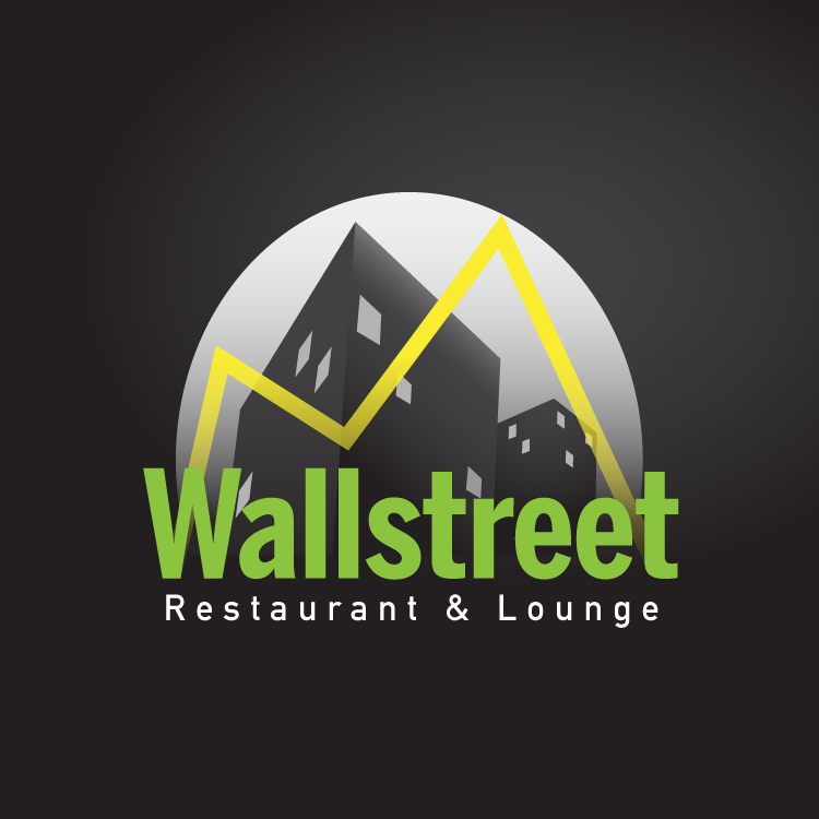 Logo Design by nohan - Entry No. 38 in the Logo Design Contest Wallstreet Restaurant & Lounge.