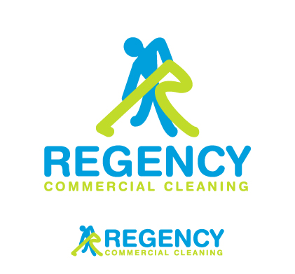 Logo Design by iframe - Entry No. 54 in the Logo Design Contest Regency Commercial Cleaning.