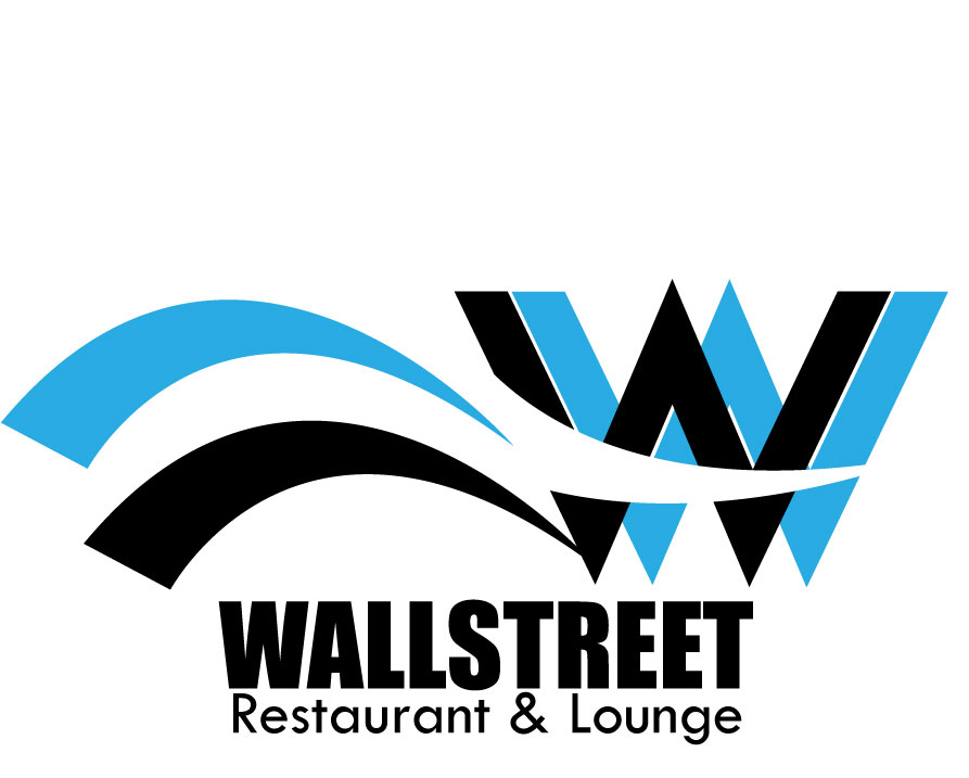 Logo Design by Ifan Maulana - Entry No. 43 in the Logo Design Contest Wallstreet Restaurant & Lounge.