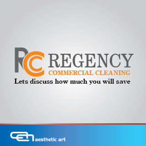 Logo Design by aesthetic-art - Entry No. 90 in the Logo Design Contest Regency Commercial Cleaning.