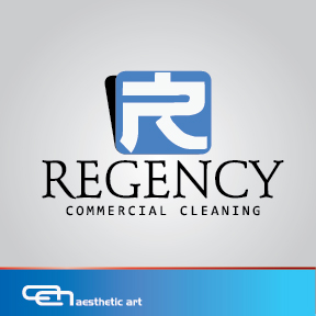 Logo Design by aesthetic-art - Entry No. 94 in the Logo Design Contest Regency Commercial Cleaning.