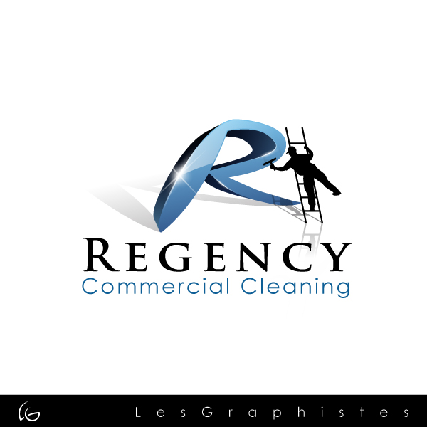 Logo Design by Les-Graphistes - Entry No. 102 in the Logo Design Contest Regency Commercial Cleaning.