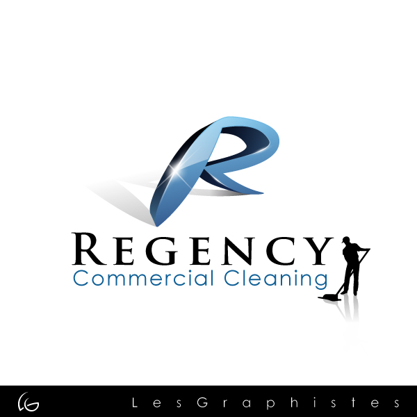 Logo Design by Les-Graphistes - Entry No. 103 in the Logo Design Contest Regency Commercial Cleaning.
