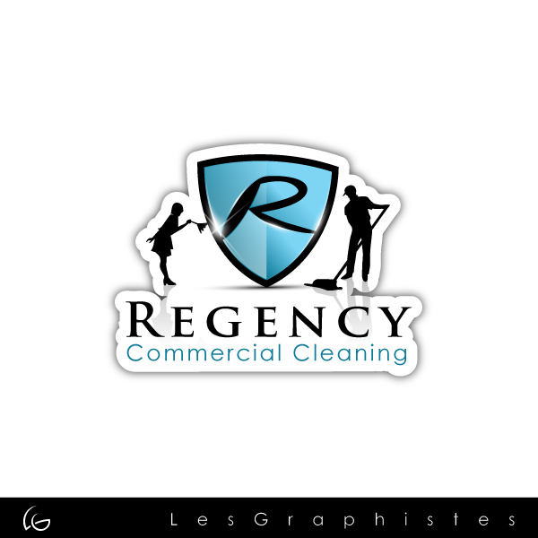 Logo Design by Les-Graphistes - Entry No. 104 in the Logo Design Contest Regency Commercial Cleaning.