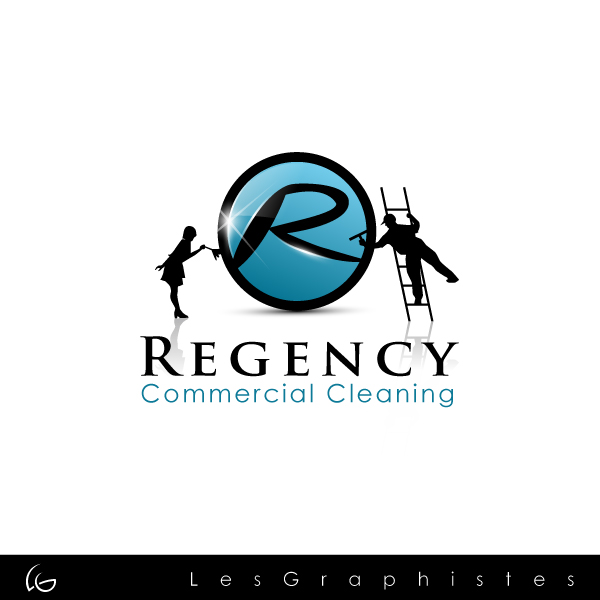 Logo Design by Les-Graphistes - Entry No. 105 in the Logo Design Contest Regency Commercial Cleaning.