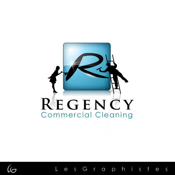 Logo Design by Les-Graphistes - Entry No. 106 in the Logo Design Contest Regency Commercial Cleaning.