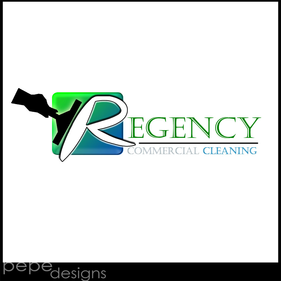 Logo Design by Joseph Neal Lacatan - Entry No. 110 in the Logo Design Contest Regency Commercial Cleaning.