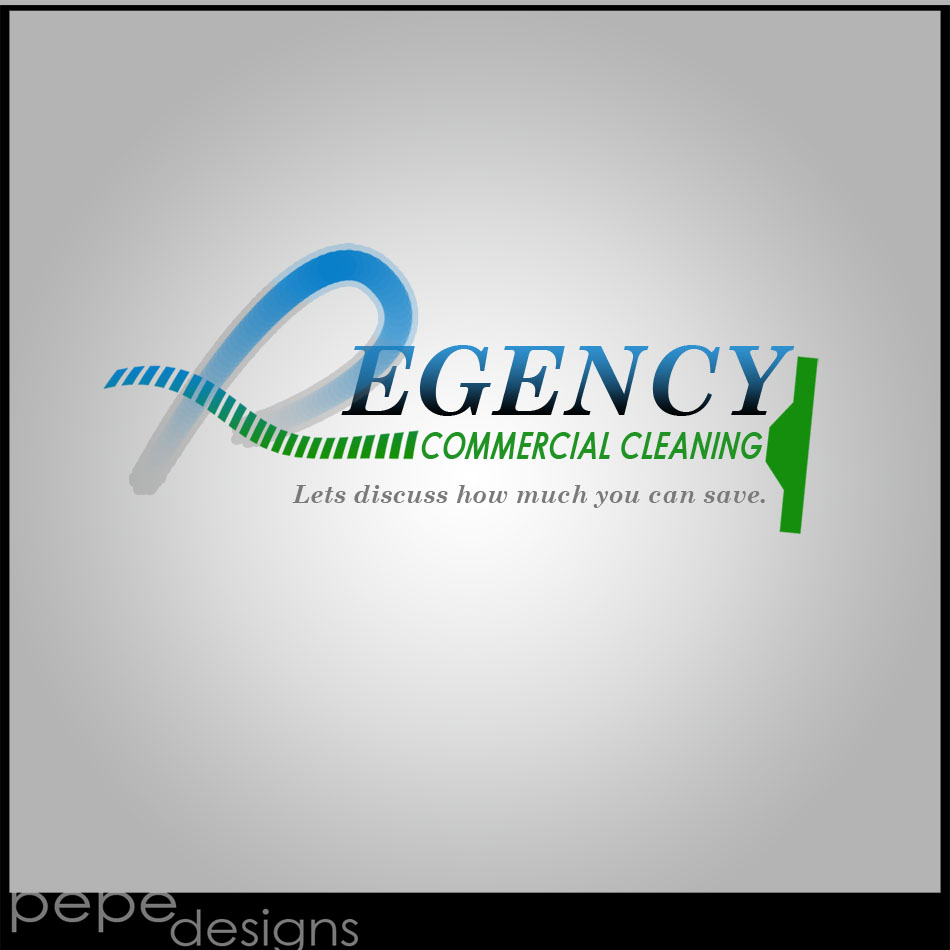 Logo Design by Joseph Lemuel Lacatan - Entry No. 111 in the Logo Design Contest Regency Commercial Cleaning.